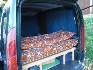 Schattig und gemütlich im fahrenden Schlafplätzchen!