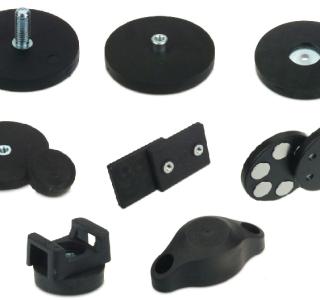 Sortiment an gummiummantelten Magnetsystemen erweitert