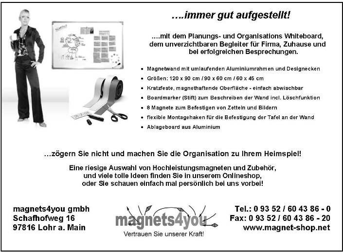 """Werbung im """"Wömber"""" - Zeitschrift der Wombacher Fussballer"""