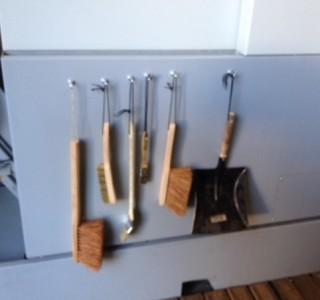 Bürsten-Magnetstation - Damit alles seinen Platz hat