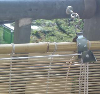 Magnete zur Befestigung von einer Jalousie am Balkon, wenn man nicht Bohren kann/darf