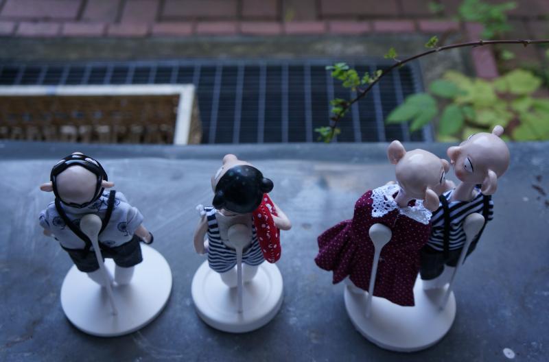 Magnethalterung für Puppen
