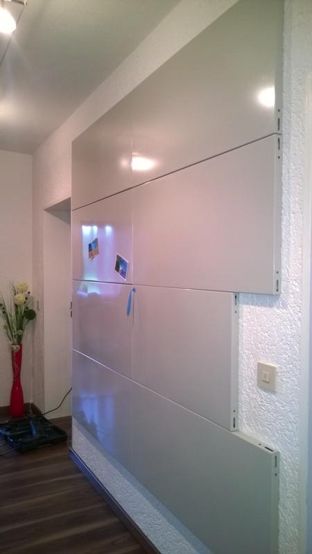 gigantische magnetwand zum schn ppchenpreis. Black Bedroom Furniture Sets. Home Design Ideas