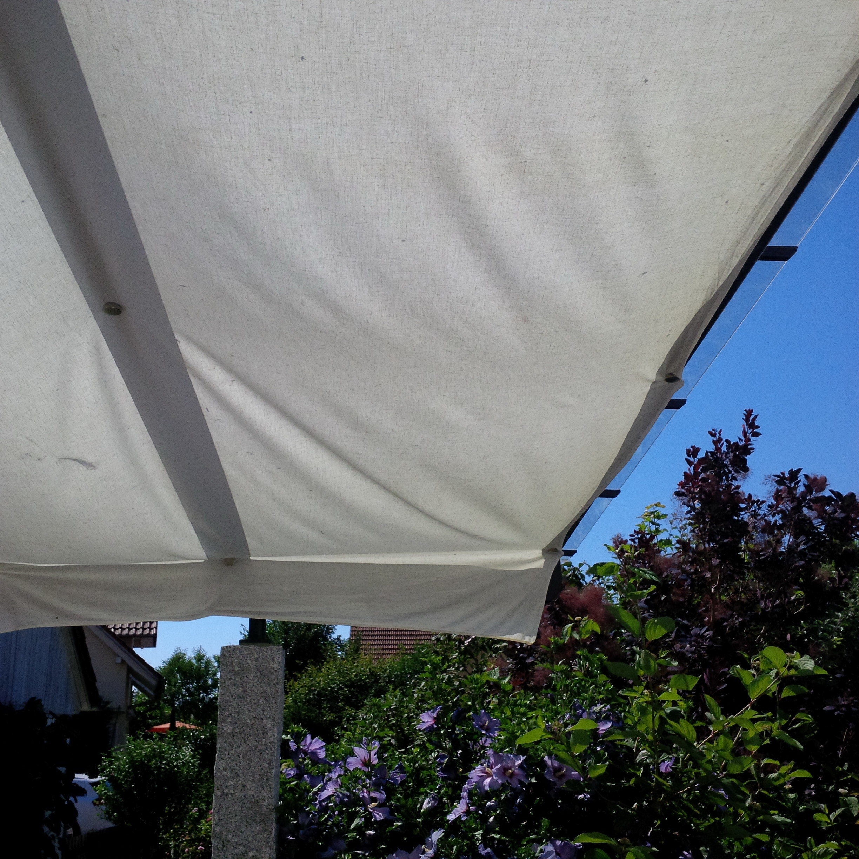 Schattige Terrasse? Kein Problem mit den Stahl-Memomagneten!