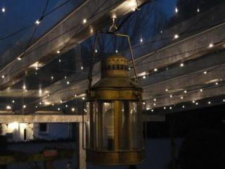 Romantische Atmosphäre mit einem LED-Sternehimmel