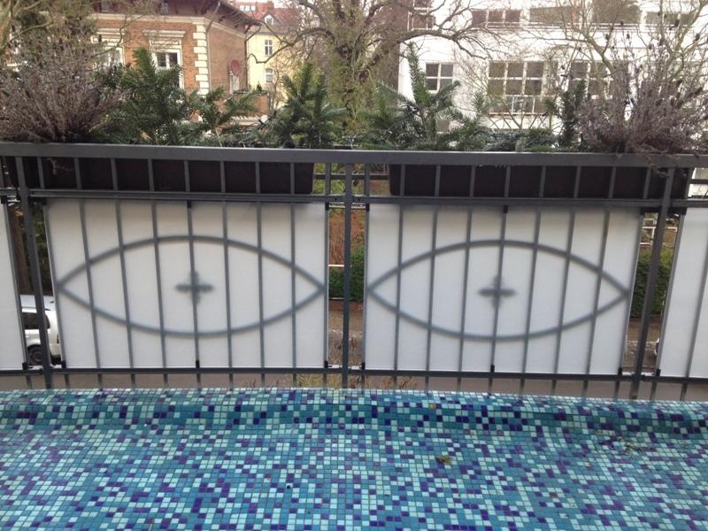Wasserdichte Magnete für Balkonschutz