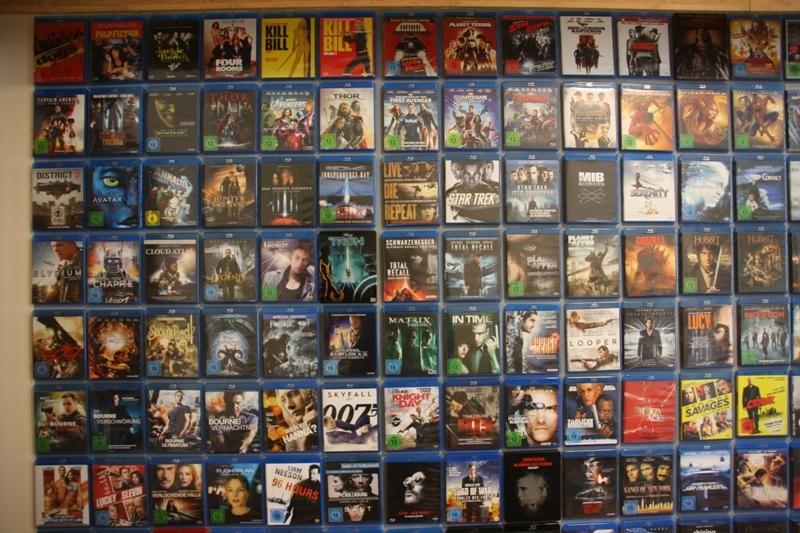 Blu-Ray Cover magnetisch präsentieren