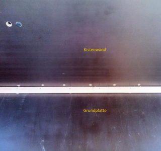 Laderaum-Ausbau mit Magneten 1