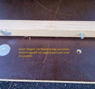 Laderaum-Ausbau mit Magneten 3