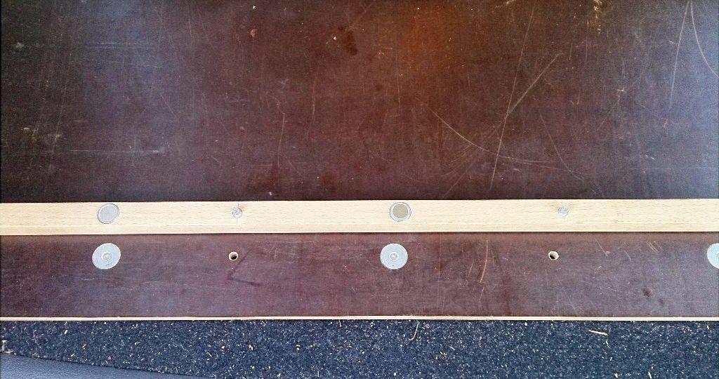 Laderaum-Ausbau mit Magneten 4