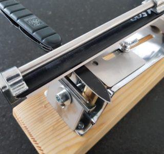Messerschärfer mit magnetischer Fixierung