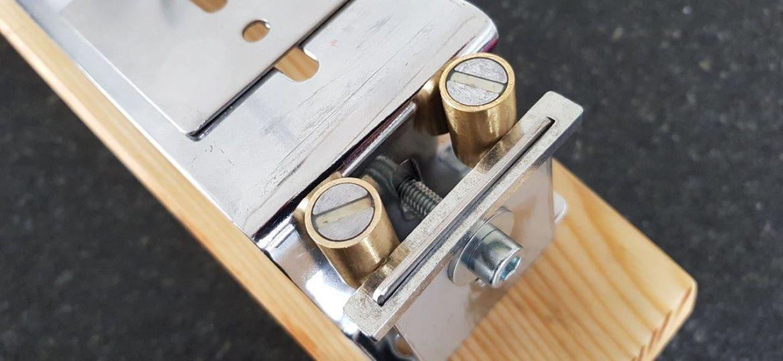 Messerschärfer mit Magneten