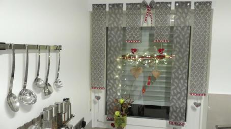 Weihnachts-Deko mit Magneten gebastelt