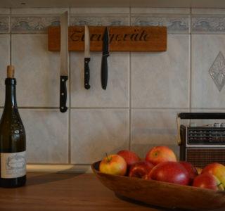 Messerleiste aus Turnbank