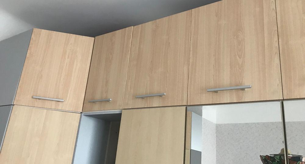 Schlafzimmerschrank mit Aufbau