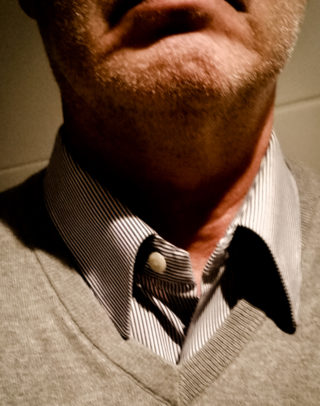 Hemdkragen ohne Magnete