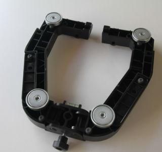 Antennenhalterung mit montierten Magneten