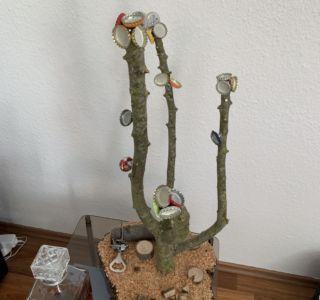Dekorierter Bierbaum