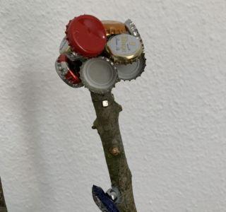Kronkorken Sammlung Bierbaum
