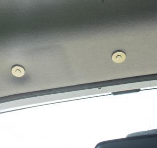 Montierte Magnete im gleichmäßigen Abstand