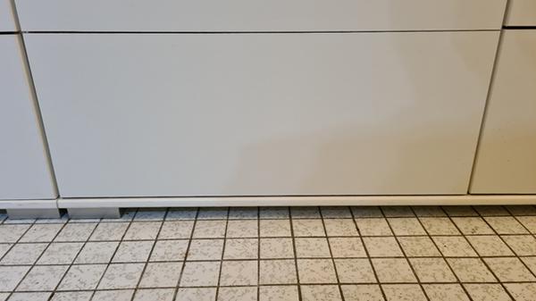 Verschlossene Schublade