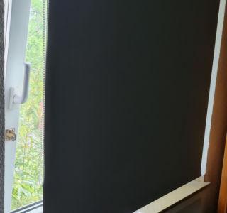 gekipptes Fenster lässt sich nicht verdunkeln
