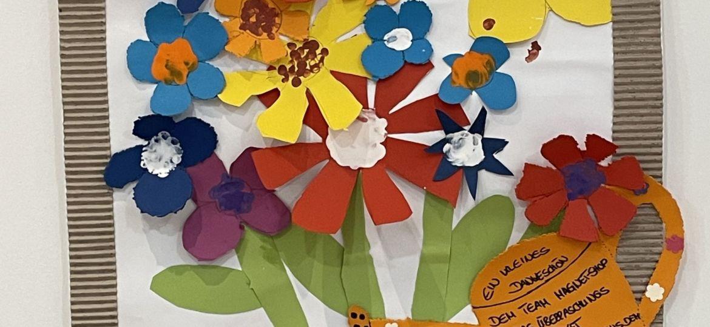 Gebasteltes Bild des Kindergarten Birkenfeld