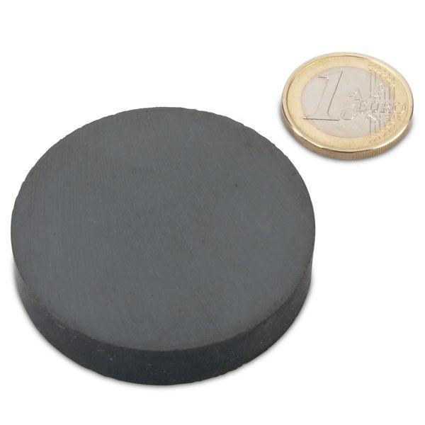 20 x Scheibenmagnet//Rundmagnet Magnetscheiben /Ø15 x 10mm Ferrit Y35 20 St/ück h/ält 750g